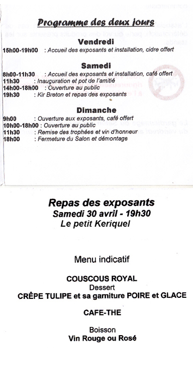 Roc Saint André les 5 et 6 mai 2018 Expo-r11