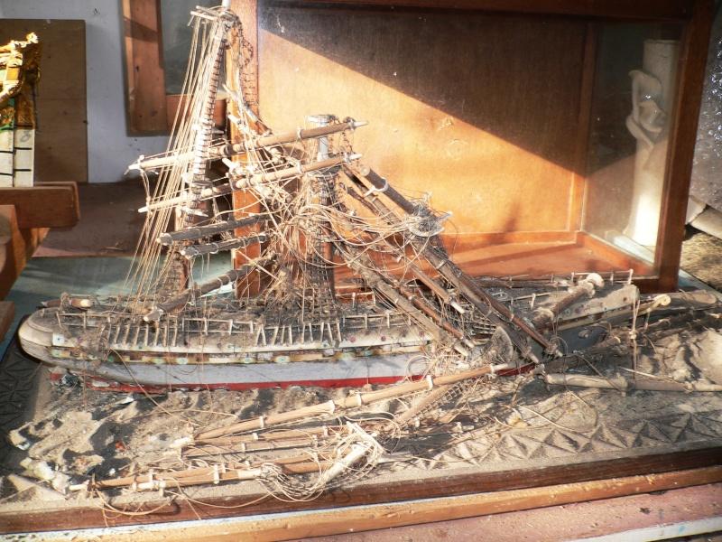 Restauration de maquette Louise10