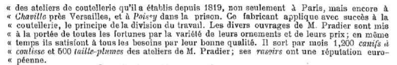 Monsieur PRADIER 1830, 22 rue Bourg l'Abbé Paris Captur12