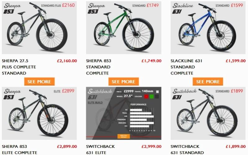 Les vélos Stanton Screen36
