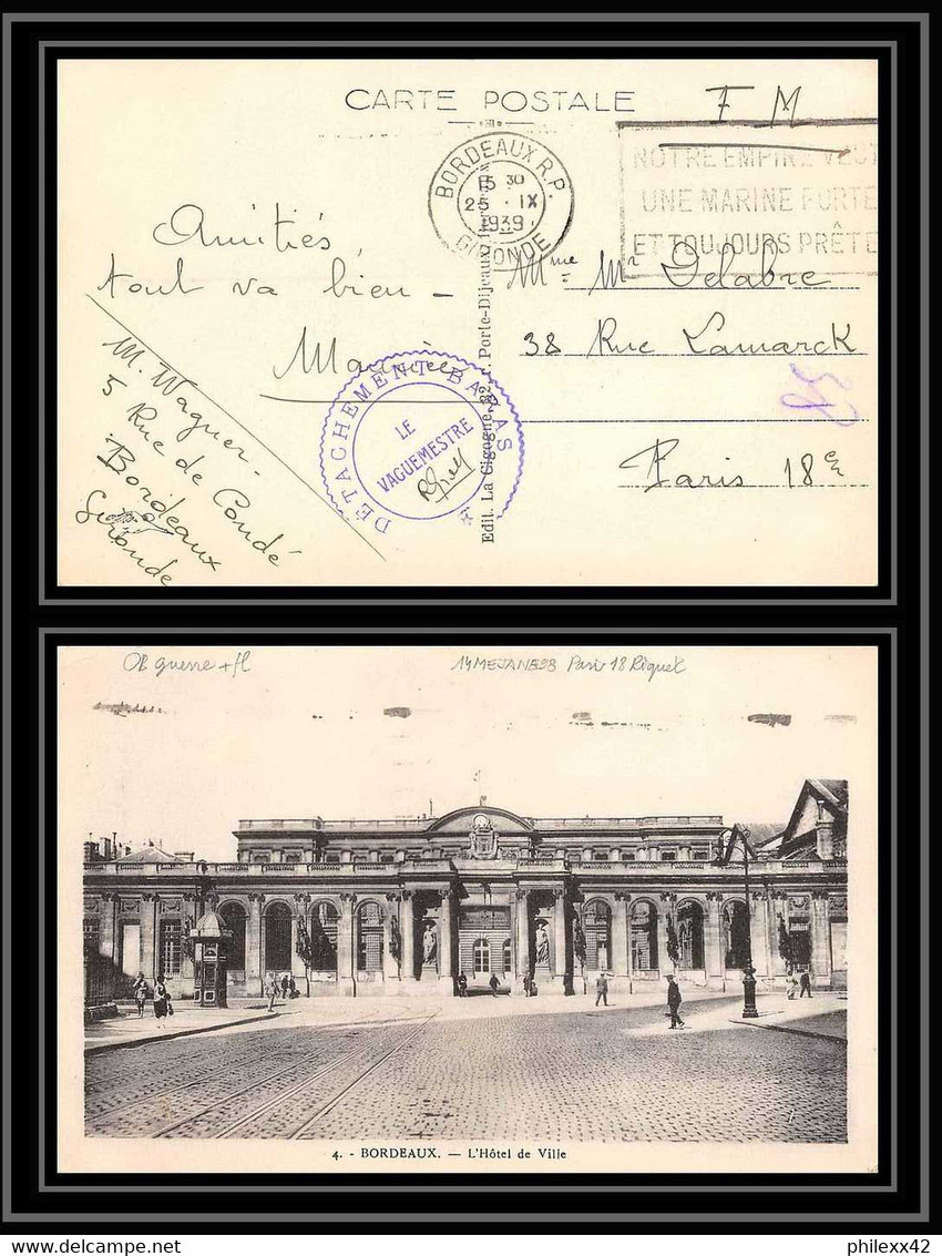 Bordeaux 1939 Groupement Baras 890_0010