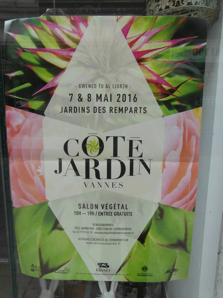 VANNES  Côté Jardin salon végétal 7 et 8 mai 2016 Sam_5012