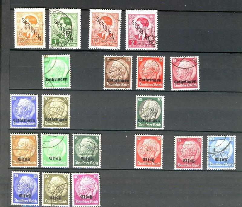 WW2 La seconde guerre mondiale par les timbres postes Sans_t36