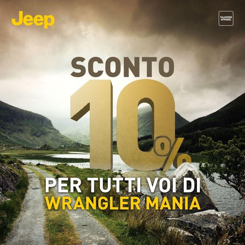 Sconto ESCLUSIVO per gli utenti WM: 10% EXTRA sull'intero catalogo! Jeepou11