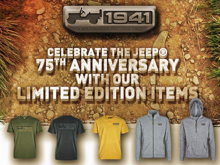 """Nuova promo Jeep Outfitter: collezione speciale """"75th Anniversary"""" Jeepou13"""