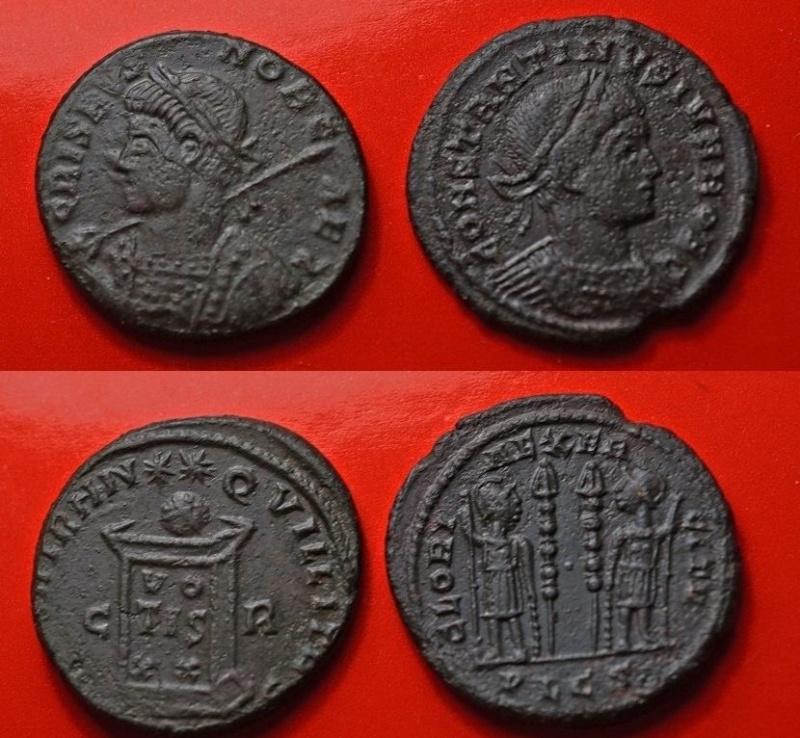 Deux étranges follis / ae3 de Crispus et Constantin II 2_foll10
