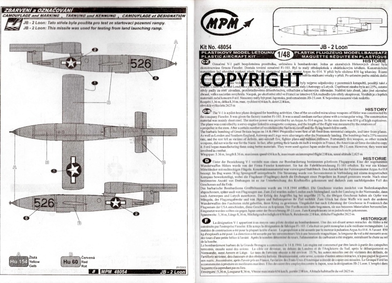 JB-2 LOON - die US-Version der V-1 / MPM, 1:48 Img19411