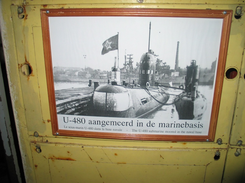 le U 480 amarré à Zeebrugge 101_0113