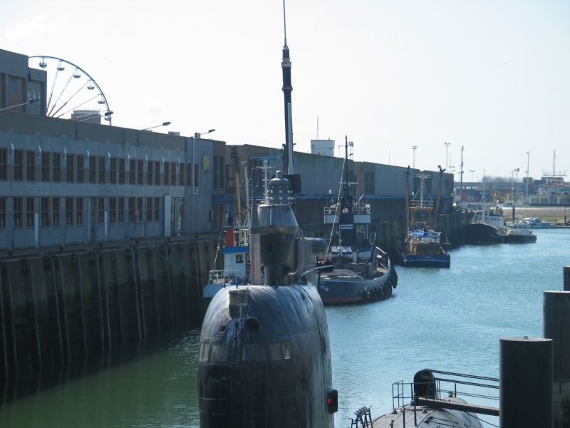 le U 480 amarré à Zeebrugge 101_0114