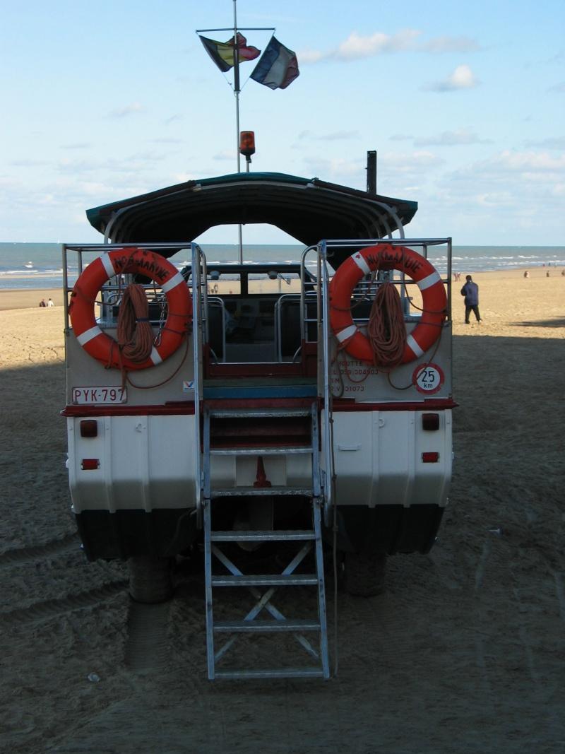 Les Bateaux Amphibies d'excursions en mer des plages belges 106_0710