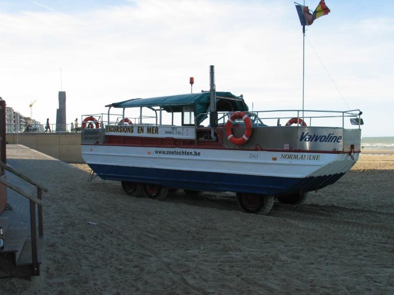 Les Bateaux Amphibies d'excursions en mer des plages belges 107_0710