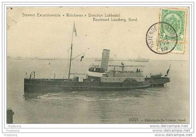 Les Bateaux d'excursions en mer des ports belges 187_0010