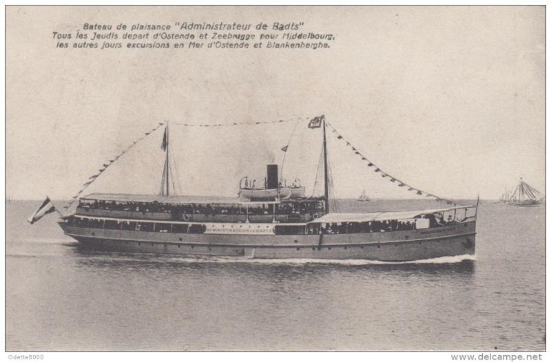 Les Bateaux d'excursions en mer des ports belges 363_0010