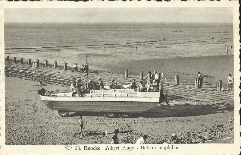 Les Bateaux Amphibies d'excursions en mer des plages belges - Page 2 Knokke10
