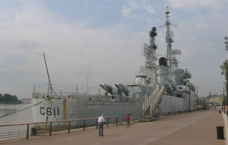 le croiseur COLBERT Scree120