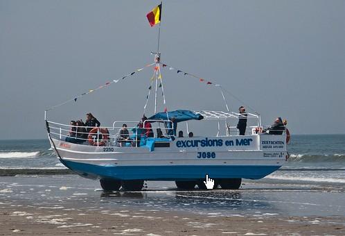 Les Bateaux Amphibies d'excursions en mer des plages belges Screen14