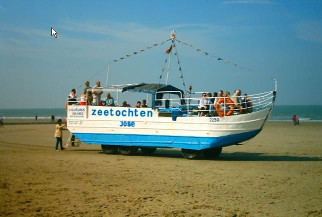 Les Bateaux Amphibies d'excursions en mer des plages belges Screen17