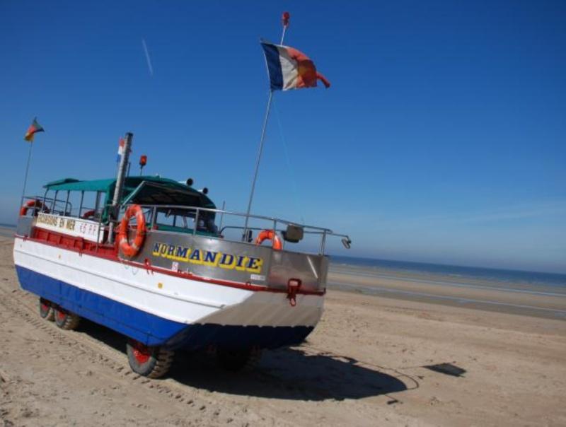 Les Bateaux Amphibies d'excursions en mer des plages belges Screen26