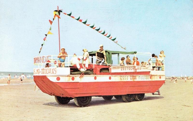 Les Bateaux Amphibies d'excursions en mer des plages belges Screen27
