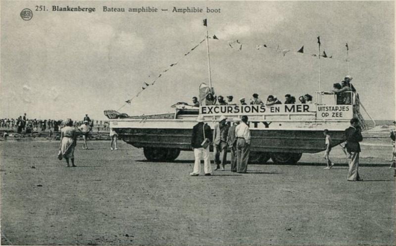 Les Bateaux Amphibies d'excursions en mer des plages belges Screen32
