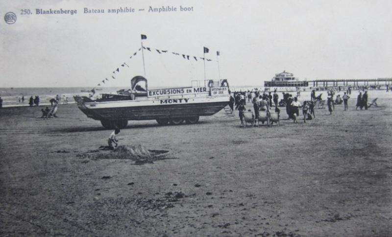 Les Bateaux Amphibies d'excursions en mer des plages belges Screen34