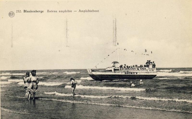 Les Bateaux Amphibies d'excursions en mer des plages belges Screen35