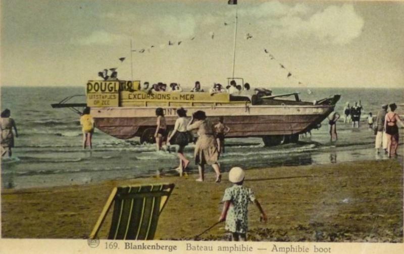 Les Bateaux Amphibies d'excursions en mer des plages belges Screen36