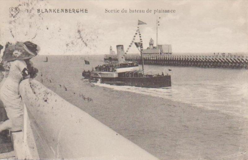 Les Bateaux d'excursions en mer des ports belges Screen53