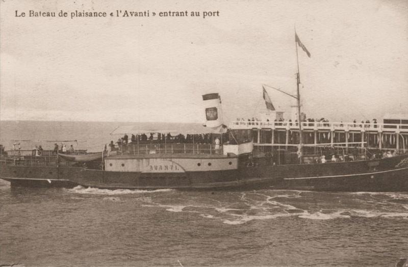 Les Bateaux d'excursions en mer des ports belges Screen62