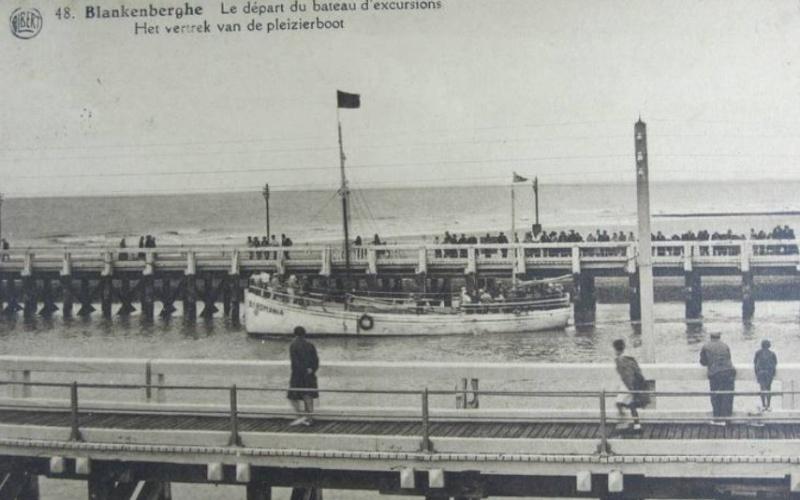 Les Bateaux d'excursions en mer des ports belges Screen63