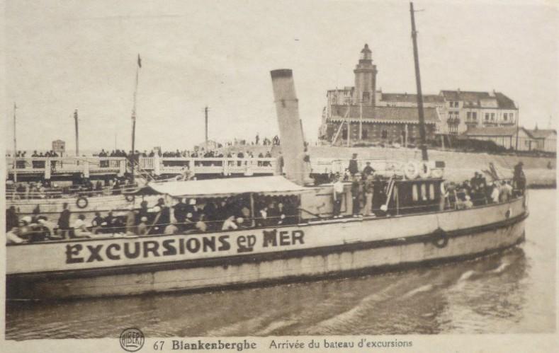 Les Bateaux d'excursions en mer des ports belges Screen66