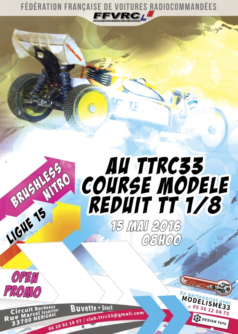 Course de Ligue O/P-Th et O-BL le 15 mai 2016 au TTRC33 Affich11
