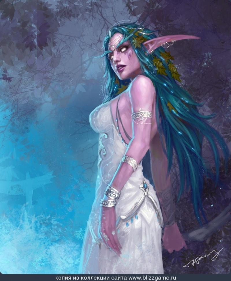 Tyrandé Dal'anara | Leader of the Spiritborne Tyrand12