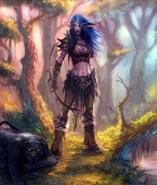 Tyrandé Dal'anara | Leader of the Spiritborne Tyrand13