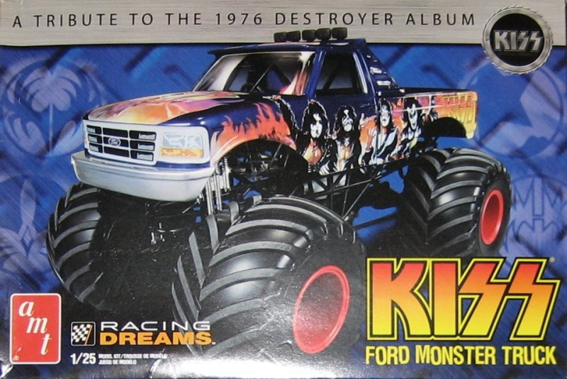 Ford Monster Truck (KISS) 1/25 AMT  88681a10