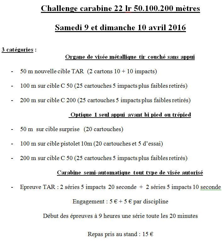 challenge carabine 22 lr  à 50,100,200 metres Challe13