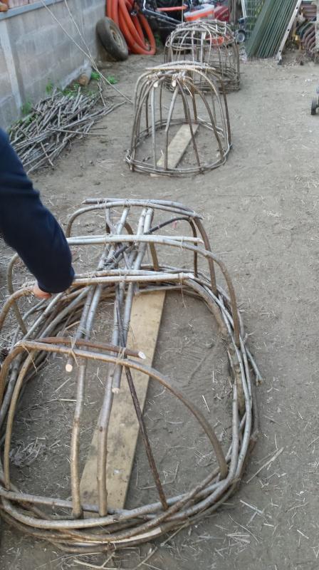 Fabrication d'un coracle 20141112