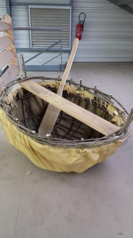 Fabrication d'un coracle 20141116