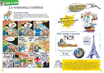 """""""Astérix Max"""" magazine de 192 pages - 23 juin 2016 L015-110"""
