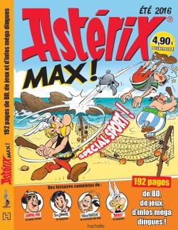 """""""Astérix Max"""" magazine de 192 pages - 23 juin 2016 L015-310"""