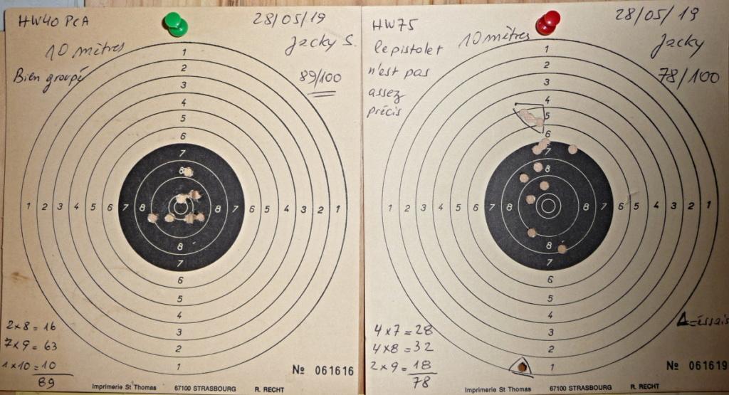 Dispositif pour bloquer un pistolet pour régler la lunette ou Red Dot P1040811