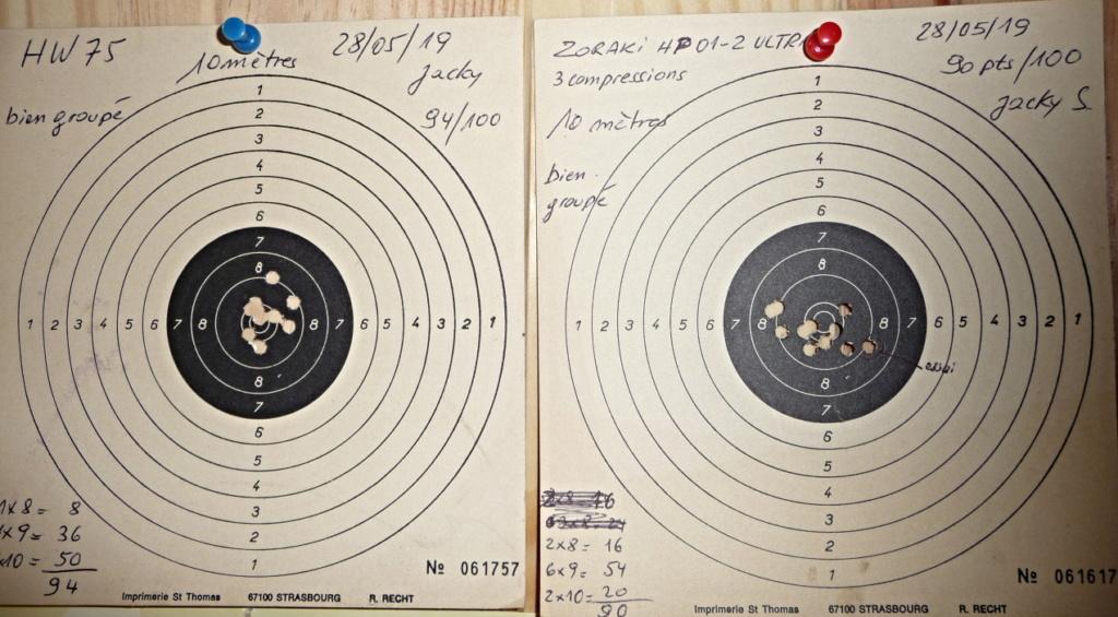 Dispositif pour bloquer un pistolet pour régler la lunette ou Red Dot P1040815