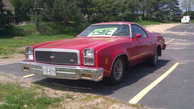 For Sale - '77 El Camino Twoche14