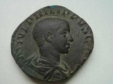 Sesterce Philippe II R1b10