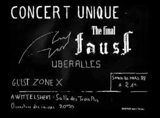 FAUST  et THE FINAL FAUST (1983 -1988) Faust_13