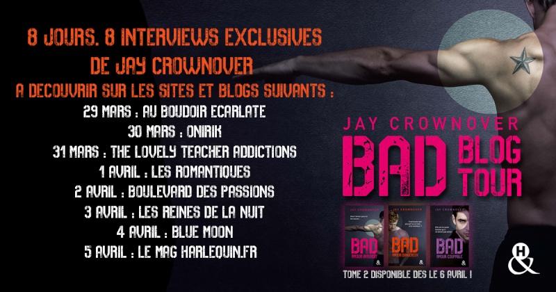 BLOG TOUR HARLEQUIN  - Interview de Jay Crownover Blog-t11