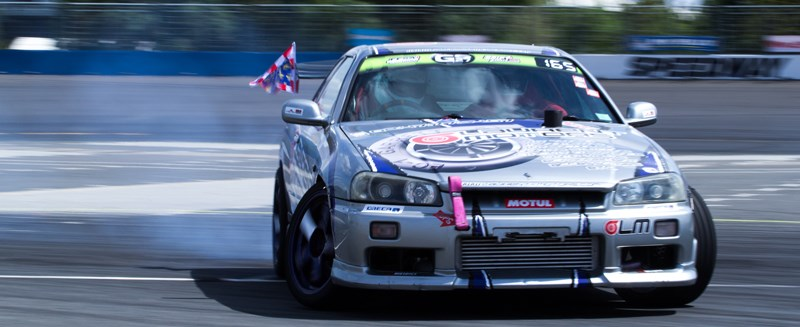 Championnat de France drift Lauren10