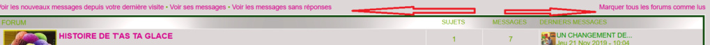 *RESOLU*[PhpBB3] Supprimer les lignes Voir les nouveaux messages depuis votre dernière visite stc Sans_t19