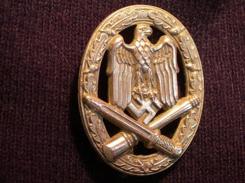 Badge Assaut Général SOUVAL  Mil_3210