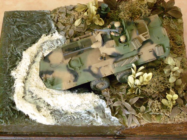 diorama piranha Piranh10
